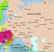 russia map before partition map of russia at 1914ad timemaps