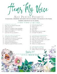 a prayer of thanksgiving to god hear my voice may prayer prompts u2014 the felicity bee