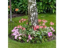 roll out flower garden tree border roll out flower gardens