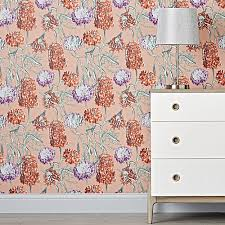 hydrangea removable wallpaper the land of nod