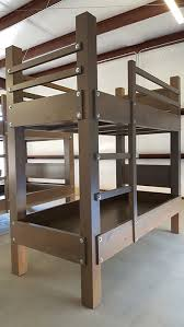 Easy And Strong 2x4 U0026 2x6 Bunk Bed 6 Steps With Pictures by Custom Twin Xl Over Twin Xl Bunk Bed Designed For 9 Foot Ceiling