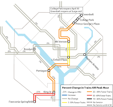 Marc Train Map Metro U0027s Safetrack Surge 14 Green Line Greenbelt To College