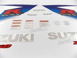 kit adesivos suzuki gsxr 750 2010 branca 75010az r 730 00 em