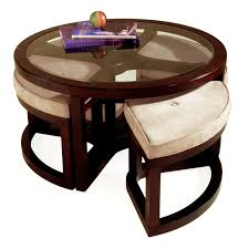 coffee table stunning coffee table with stools design ideas round
