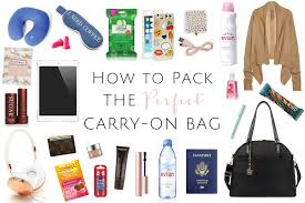 how to pack the perfect carry on bag blonde well traveled