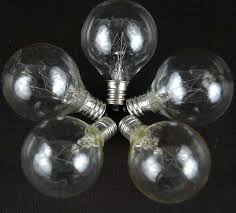 clear g40 globe replacement ls novelty lights inc