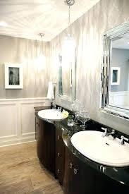 Pendant Lighting For Bathroom Vanity Pendant Lights In Bathroom Radial Wave Shade Adds Delicate