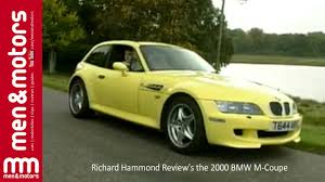 bmw m coupe review richard hammond reviews the 2000 bmw m coupe
