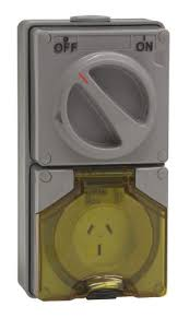 56c315 clipsal electrical ip66 grey surface mount 2p e