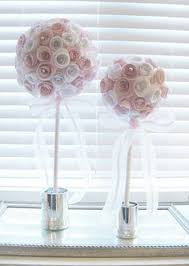 Paper Rose Topiary - paper rose topiary paper topiaries and paper roses