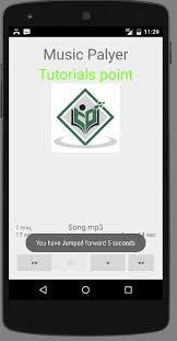 android studio ui design tutorial pdf android mediaplayer