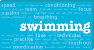 word blocks home decor swimming words canvas swimming words for your home or office decor