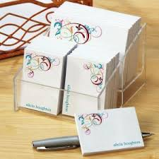 personalized stationery sets sticky note sets colorful images