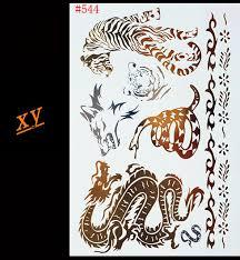 indian arabic designs golden silver flash tribal henna tattoo