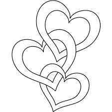 Coloring Pages Hearts Coloring Page Of A Heart Printable Valentine Heart Coloring Page by Coloring Pages Hearts