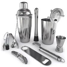 Home Bar Sets by Amazon Com Home Bar Tools Set 11 Piece Stainless Steel