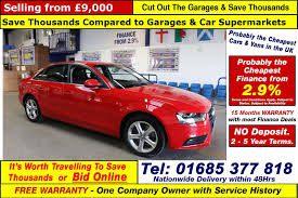 used audi a4 se technik red cars for sale motors co uk