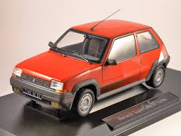renault 5 renault 5 gt turbo 1 18 scale model norev
