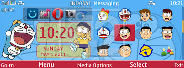 udjo42 themes for nokia c3 udjo42 high quality nokia themes doraemon
