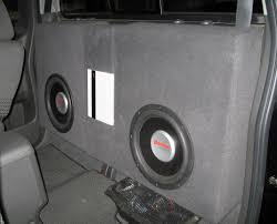 nissan armada knoxville tn sub box in my 07 kc nissan frontier forum
