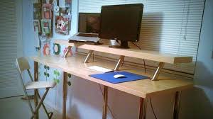 diy adjustable standing desk build your own adjustable standing desk diy adjustable standing desk