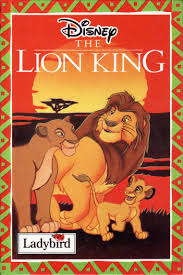 lion king ladybird book walt disney series gloss hardback 1994