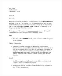 sample offer letter 7 documents in pdf word