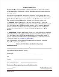 Request For Donations Letter Template by 9 Donation Application Form Templates Free Pdf Format Download