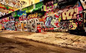 download wallpaper 1680x1050 graffiti asphalt wall 1680x1050 hd