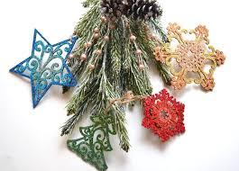 glitter ornaments one artsy mama