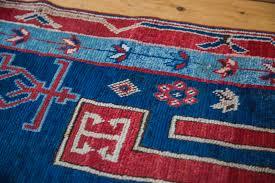Red Blue Rug Antique Fereghan Rug Ee001536 Westchester Ny Rugs