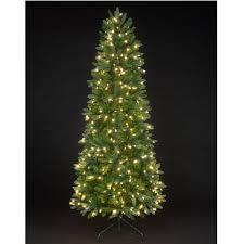 9ft pre lit slim tree lights decoration