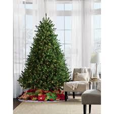 trim a home 7 5 berkshire fir pre lit tree kmart