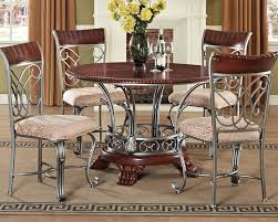 Contemporary Dining Set by Dining Set Omari By Acme Furniture Ac70100set