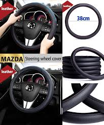 mazda steering wheel visit to buy leather car styling steering wheel cover for mazda 3