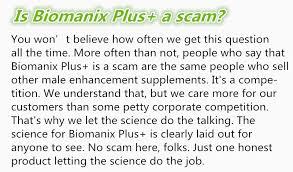 biomanix plus safety man s enlargement male performance