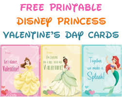 7 best images of free printable disney princess cards free