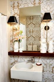 small bathroom chic elegant mirrors make bathrooms look bigger