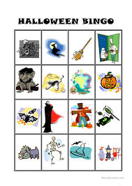 Halloween Bingo Free Printable Cards by Halloween Bingo Worksheet Free Esl Printable Worksheets Made By