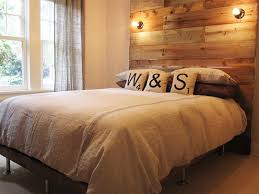 Barn Wood Headboard William U0026amp Sally U0027s Diy Reclaimed Wood Headboard Apartment Therapy