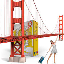 golden gate bridge as a high quality 3d model for free download