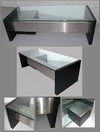 grand bureau design osvaldo borsani tres grand bureau en metal laque aluminium et