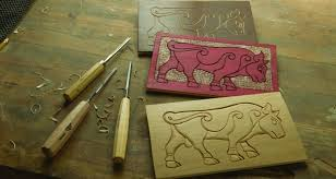 line carving three simple styles woodcarving illustrated