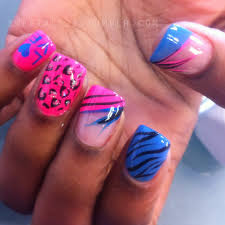 10 acrylic nail designs pink cheetah cism another heaven nails