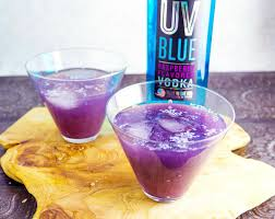 purple martini recipe kisses cocktail