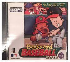 Backyard Baseball 2004 Download Backyard Baseball 2001 Windows Mac 2000 Ebay