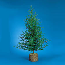 2 5 rustic artificial pistol pine tree unlit