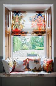 Fabric Blinds For Windows Ideas How To Brighten Up A Bad View With Window Blinds Curtains And