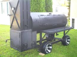 126 custom bbq reverse flow barbecue smoker with trailer and