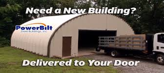 Prefab Metal Barns Quonset Huts By Powerbilt Steel Buildings